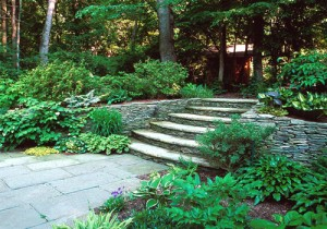 retaining wall with stairs portland oregon