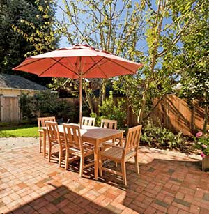 Concrete Paver Stone Patio Portland Oregon
